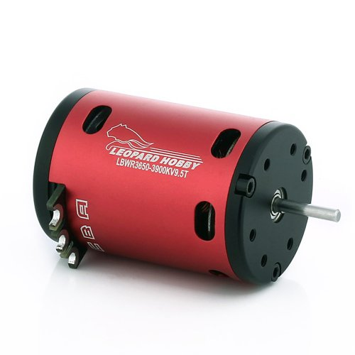 Leopard Brushless Motor (Leopard Brushless Sensored 540 Size Motor 2850Kv 13.5T 2-Pole for 1:10 RC Cars)