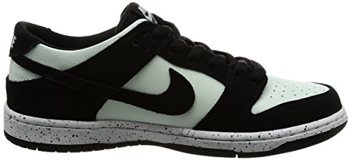 Nike DUNK LOW PRO IW - Zapatillas de Skateboarding para Hombre, Black / Barley Green-white, 8 D(M) US