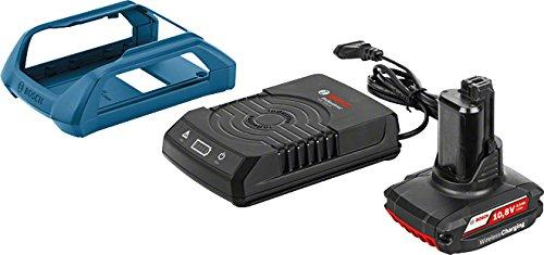 Bosch Professional Starter-Set GBA 10,8 V 2,5 Ah OW-B mit GAL 1830 W Wireless Charging Professional, 1 Stück, 1600A00J0F