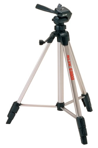 SLIK U8000 Tripod with 3-Way, Pan-and-Tilt Head