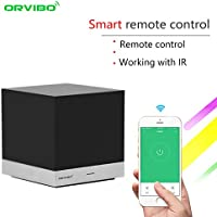 ORVIBO IR Remote Control Hub Box Compatible with Alexa, Magic Cube Wireless Controller Smart Home WIFI Remote Control for android IOS phone