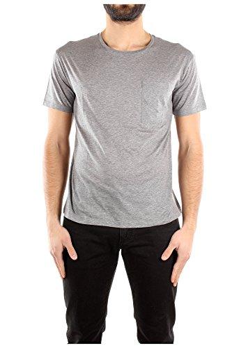 Camiseta Manga Corta Valentino Hombre Algodón Gris KV0MG03C381080 Gris M