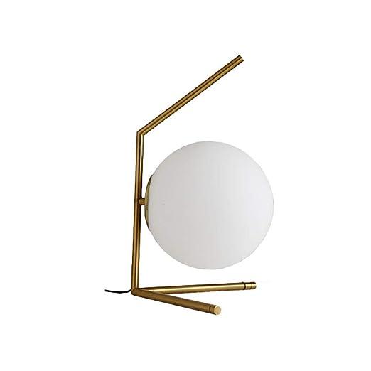 Lampara de mesa Jue Cobre LED, Ambiente nórdico, Personalidad ...