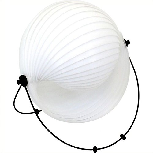 LumiSource LS-K-CONCHTBS W Shell Table Lamp White