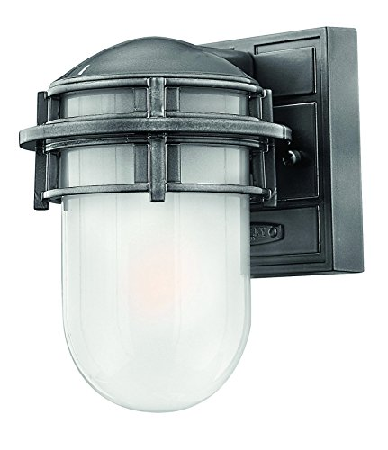 Hinkley 1956HE Transitional One Light Wall Mount from Reef collection in Pwt