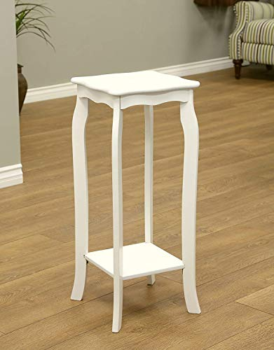 (DK Furniture Plant Stand, Small, White)