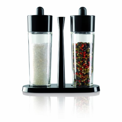 Kuhn Rikon Bistro Salt and Pepper Grinders in Black 22515 ()