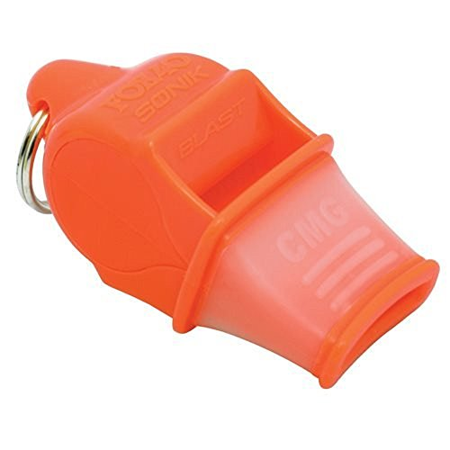 Fox 40 Sonik Blast CMG Whistle with Lanyard, ()