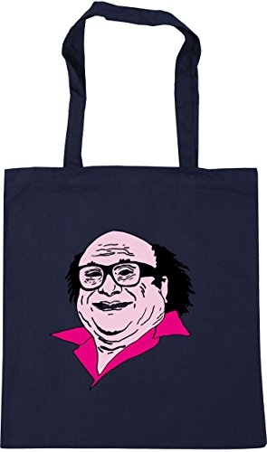 Bag 42cm HippoWarehouse Beach litres Illustration Frank Tote x38cm 10 Shopping Gym Navy French xw0qYpOq1