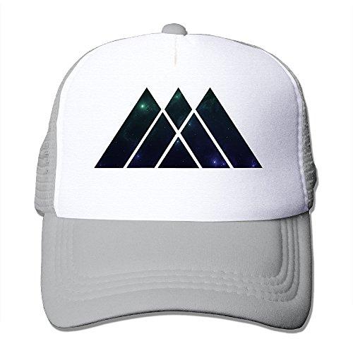 SAXON13 For Men Women Baseball-caps Mesh Back Starry Sky Warlock Hat Cpas Ash
