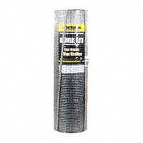 JACKSON WIRE 11063615 Hardware Cloth, 100 Ft Roll L X 24 in W, 1/8 in Mesh, 27 Ga Wire, 1/8
