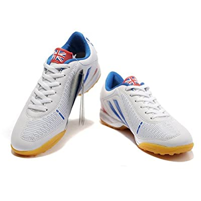 Tiebao Men's Hard Ground More Countries Patent Leather Football Shoe