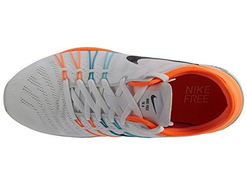 Kvinna Nike Free Tr 6 Träningsskor Vit / Gamma Blå / Total Apelsin