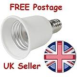 Lamp Light Bulb Socket Base Converter Edison small screw adapter E14 to E27 UK SELLER