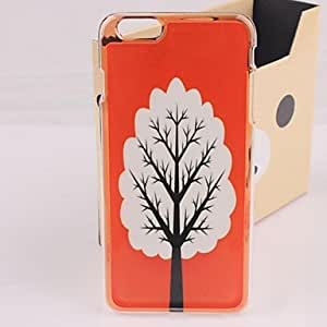 WQQ Beautiful Tree Plastic Hard Back Cover for iPhone 6