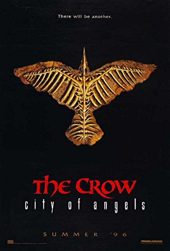 The Crow: City of Angels 1996 D/S Advance Rolled Movie Poster 27x40