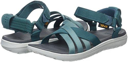 Teva Deportivas Mujer Sandal Para Teal Sandalias Verde deep Sanborn rwxtZar