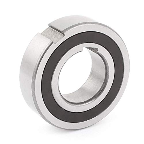 LDEXIN Stainless Steel CSK25PP One Way Clutch Sprag Clutch Dual Keyway Ball Bearing 25 x 52 x 15mm, 2