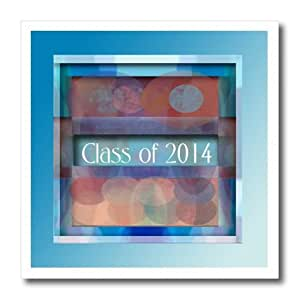 ht_172647_3 Beverly Turner Graduation Design - Class of 2014, Colorful Lights, Blue - Iron on Heat Transfers - 10x10 Iron on Heat Transfer for White Material