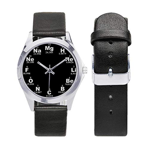 Chemical element Watch, Unisex Watch, Unique Pattern, Gift for Chemistry Lover, Teacher, Christmas Gift