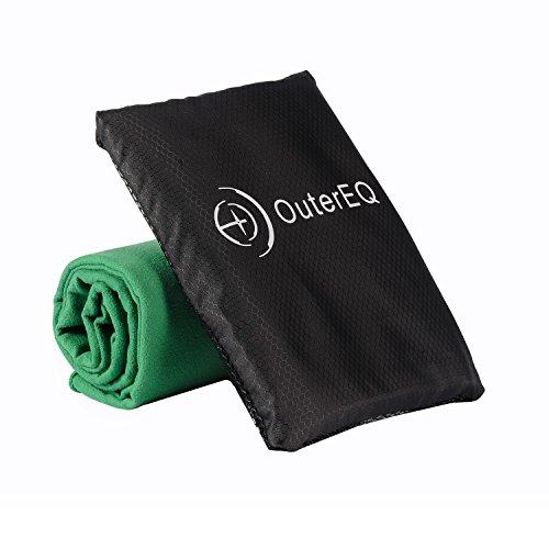 OuterEQ Microfiber Travel Towel Towels