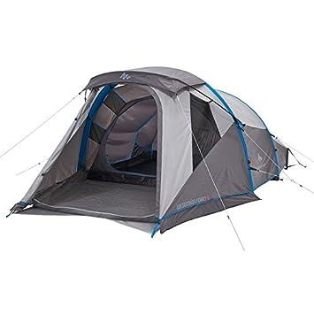 QUECHUA Inflatable Air Seconds Family 4 u2013 4 Person Tent u2013 Grey  sc 1 st  Amazon UK & QUECHUA Inflatable Air Seconds Family 4 - 4 Person Tent - Grey ...