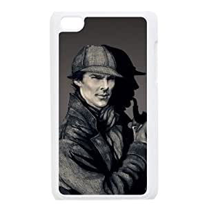 C-EUR Customized Phone Case Of Sherlock For Ipod Touch 4