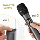 Wireless Microphone, TONOR UHF Metal Cordless