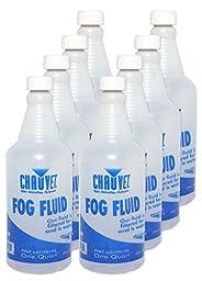 (8) NEW CHAUVET FJQ (8) QUARTS OF FOG JUICE FLUID FJ-Q