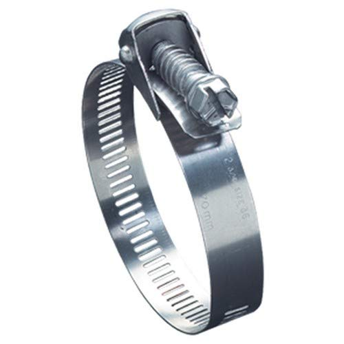9//16 W Ideal Tridon 5815252#152 Stainless Steel Quick Release Clamp with 410 Stainless Steel Screw 2 to 10 Diameter