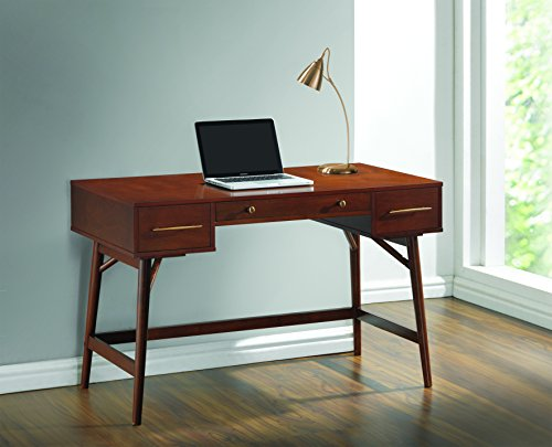 Coaster 800744 Home Furnishings Desk, Walnut by Coaster Home Furnishings