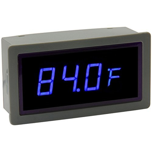 Temperature Readout - Sure Electronics ME-TM22123 Blue LED Temperature Display External Sensor