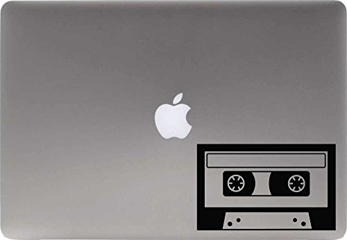 Cassette Retro Vinyl Decal Sticker for Computer Macbook Laptop Ipad Electronics Home Window Custom Walls Cars Trucks Motorcycle Automobile and More - Pandora Cp