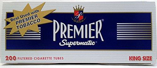 Premier Supermatic King Full Flavor Cigarette Filter Tubes (1)