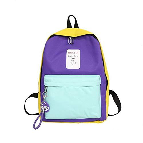 Sacs Sacs fourre Tout Zippers Violet AgooLar Femme Violet bandoulière Nylon GMBAB208267 à Mode wfTTqH