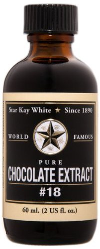 Star Kay White Pure Chocolate Extracts #18, 4 Ounce