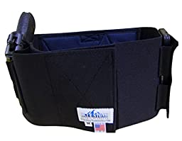 BLUESTONE Belly Band Back Brace w/ Smart phone pocket and a spot for hot or cold pack