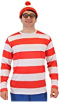 Where's Waldo DELUXE Adult Costume Set