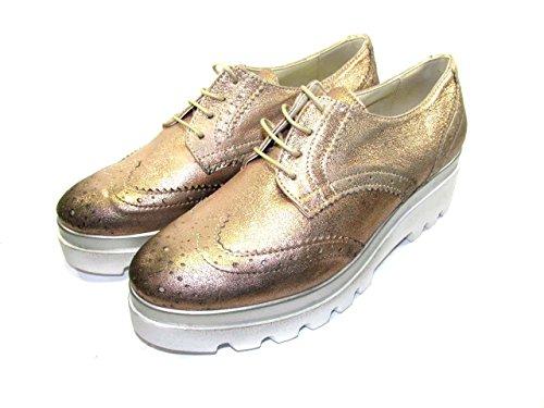 Cuivre Chaussures PERICOLI lacets femme pour ville à de OSVALDO R48qg