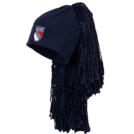 7814c7f8f41965 Image Unavailable. Image not available for. Color: NHL Reebok New York  Rangers 2012 Winter Classic Dread Head Knit Beanie ...
