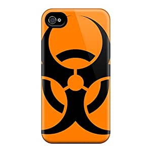 New Premium Edwave Biohazard Band Skin Case Cover Excellent Fitted For Iphone 4/4s