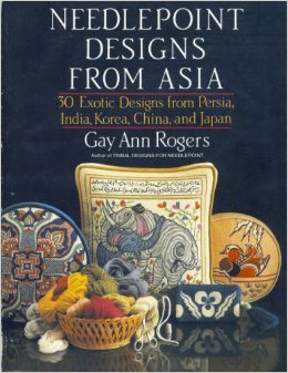 Needlepoint designs from Asia: 30 exotic designs from Persia, India, Korea, China, and Japan