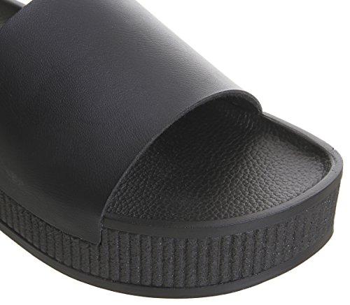 Black Office Office Mushroom Sandals Flatform Mushroom C6TxqwTg