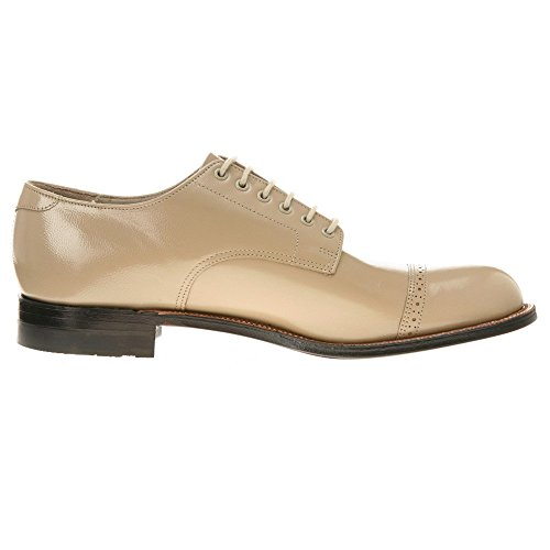 Stacy Adams Mens Madison Cap Toe Oxford Taupe
