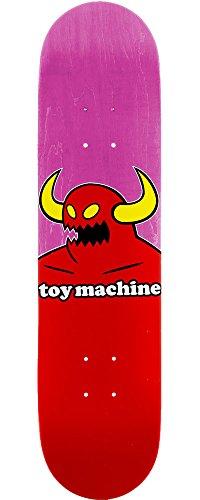 特別なポイント郵便物TOY MACHINE(トイマシーン) スケートボード デッキ MONSTER MINI PINK キッズサイズ KIDS D309pk (7.375 x 29.4)