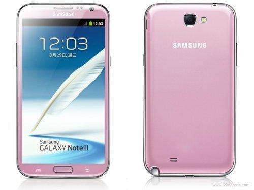 Samsung Galaxy Note II N7100 16GB Pink-Unlocked International Phone