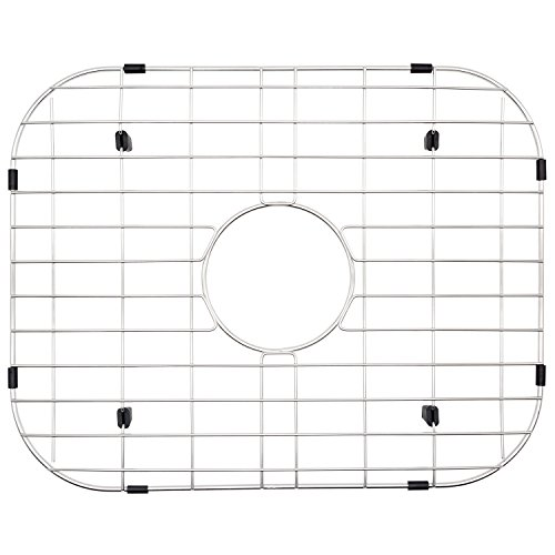 NWC Sink Protector, Metal Grid for Stainless Steel Kitchen Sinks | 19 in X 15 in | Best for Protecting Your Sink ()