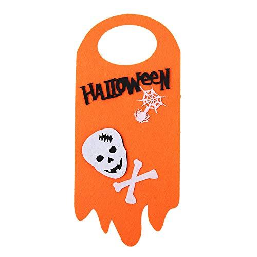 Modern Halloween Felt Door Banner - Dayday-Summer 3 pcs Door Hanging Banners