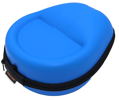 Homvare Hard Shell Case for Over The Ear Headphones with Full Protection fits Beats Studio, Beats Solo, Sony, Bose QC, JBL, Sennheiser, Skullcandy, mPow, Urbanista, Parrot, Cowin, JVC - Blue