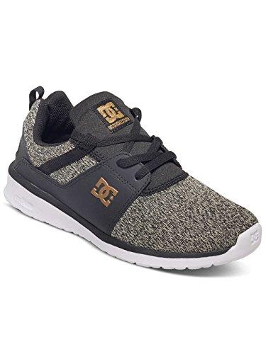 Schwarz Sneakers Basses Dc Heathrow Se Shoes Femme awqWcFg7O